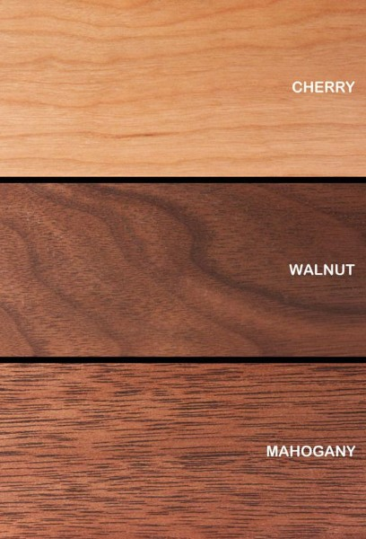 cherry wood finish